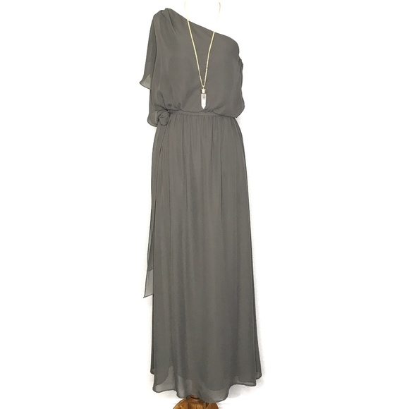 nouvelle AMSALE Dresses & Skirts - nouvelle Amsale Bea One Shoulder Gown H0681
